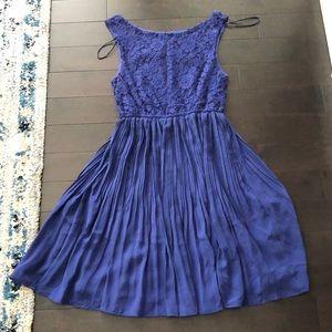 RW&Co Lace Pleated Dress